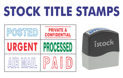 Stock Title Stamps